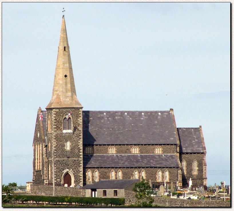 Photograph of Drumcree Parish Church, Portadown, Co. Armagh, Northern Ireland, U.K.