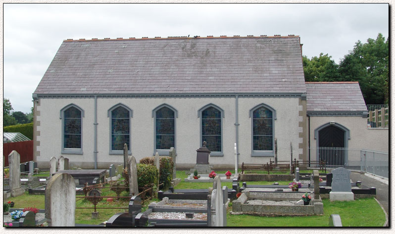 Photograph of Old Presbyterian Church, Richhill, Co. Armagh, Northern Ireland, U.K.