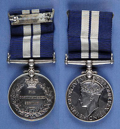 Photograph of the United Kingdom Distinguished Service Medal